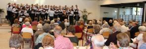 Volle zaal bij het Europaconcert van het AMK - Foto: Ed Schotman